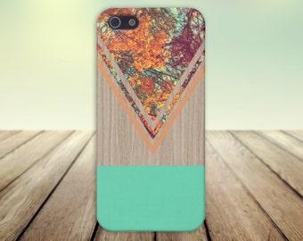 Chevron Fall Leaves Wood Case,iPhone 7, iPhone 7 Plus, Protective iPhone Case, Galaxy s8, Samsung Galaxy Case, Note 5, CASE ESCAPE