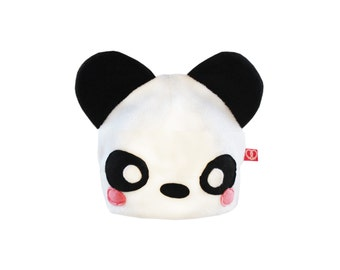 Cute panda fleece hat