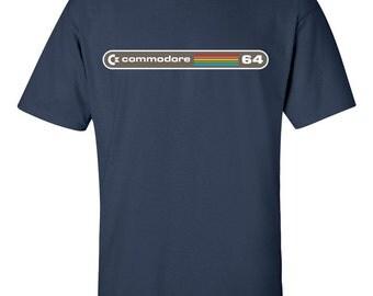Commodore 64 C64 T-Shirt Retro Computer T-Shirt