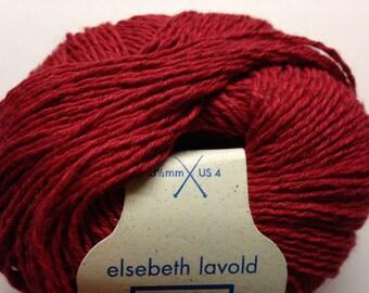 Elsebeth Lavold Hempathy hemp/cotton blend DK weight yarn (30 Berlin Red)