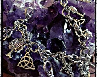 Witchcraft 13 charm bracelet