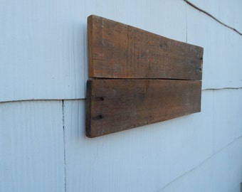 Blank Reclaimed Pallet Wood Sign. Upcycled upcyled Recycled Recycled  Repurposed Barn Wood