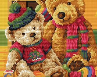 "Cross stitch pattern ""Toys"""