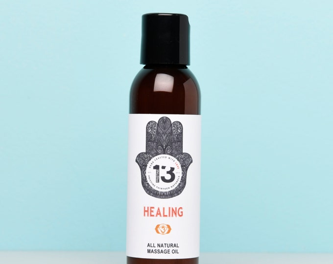Healing Massage Oil (Lavender, Chocolate and Peppermint)