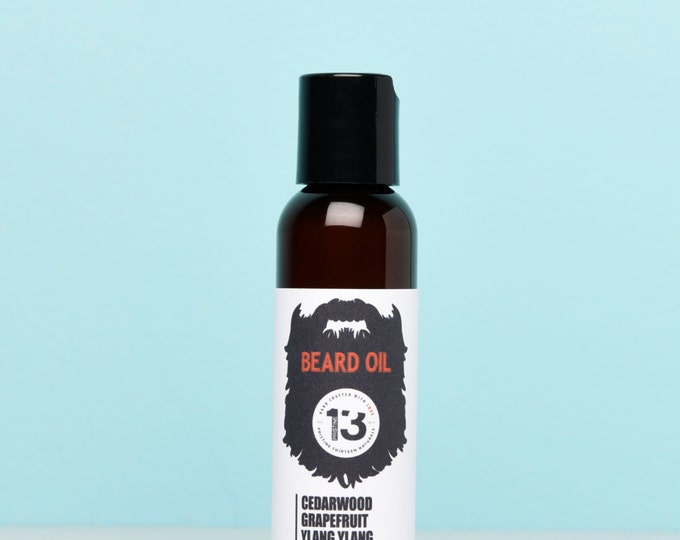 Grapefruit, Cedarwood and Ylang Ylang Beard Conditioning Oil