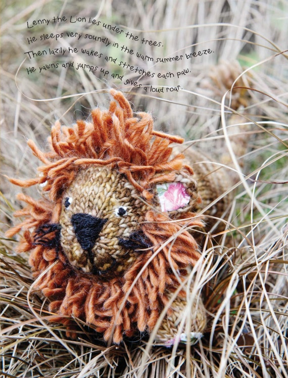 Free Knitting Patterns For Christmas Decorations : Lion Toy Knitting Pattern images