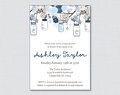 Mason Jar Baby Shower Inv...