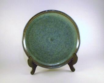 Stoneware Side Plate - Blue/Turquoise finish