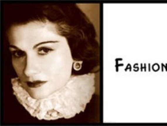 Wall Quote Coco Chanel Fashion Changes But Style Endures