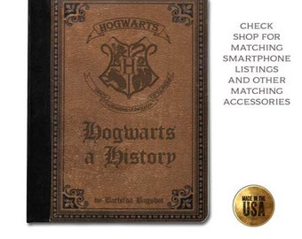 Witches School History vintage book cover handbook protective tablet case (ipad 2 3 4, air, mini, Kindle Fire, paperwhite)