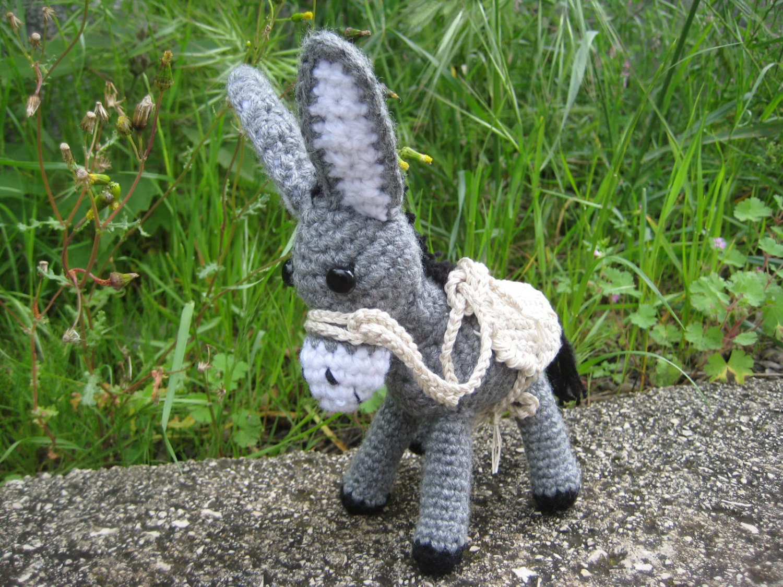 Amigurumi Free Pattern Food : Amigurumi donkey crochet pattern Crochet donkey by Pletionica