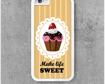 IPhone 6 / 6s Case Sweet Cupcake Chocolat