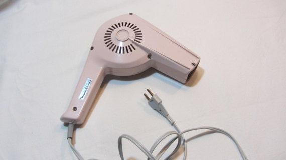 Retro Hair Dryer Moulinex Hair Dryer 1960s Dusky Pink
