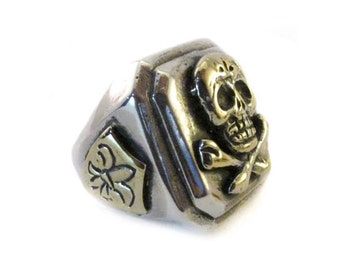 Skull Vintage 925 Sterling Silver