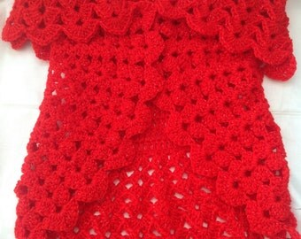Girl's Crochet Shrug