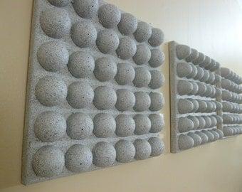 Faux Stone Egg Shell 3D Canvas Art
