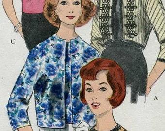 Vintage Vogue 5150 Jacket and Blouse Sewing Pattern uncut size 14 Bust 34