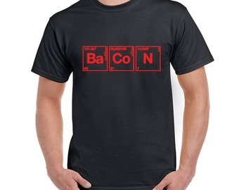 Unavailable listing on etsy for Custom periodic table t shirts