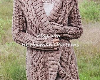 Bulky knit cables Etsy