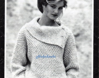 Aran Jumper Dress Knitting Pattern : Aran sweater Etsy
