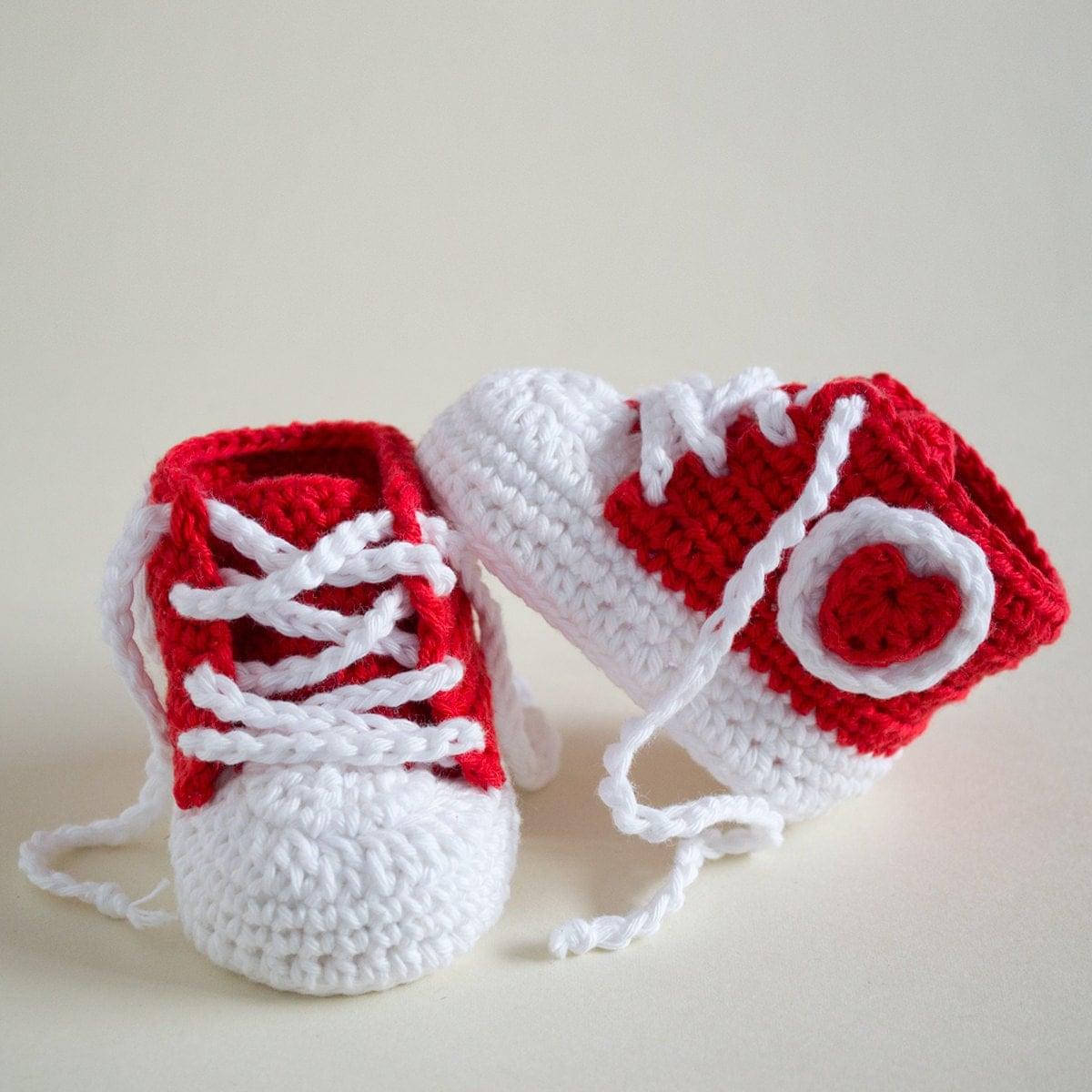 CROCHET PATTERN Crochet Baby Booties Fancy Baby Baby Shoes