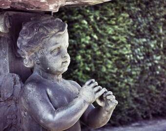 Paris Photography, Versailles Garden Statue, Versailles, Garden Art, Paris Wall Art