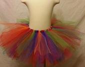 Adult or Child Festive Rainbow Tutu