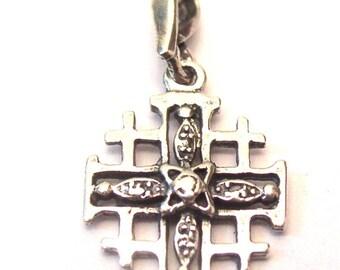 Sterling Silver 925 Jerusalem Cross From Holy Land