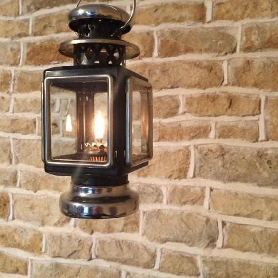 Small Decorative Lamp: Small Lantern Decorative Oil Burning Light Paraffin Oil Lamp