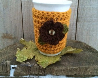 Reusable Crochet Drink Sleeve