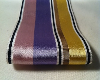 Vintage French Satin-faced Millinery Grosgrain Ribbon