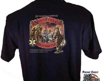 Volunteer Firefighter FiremanT-Shirt