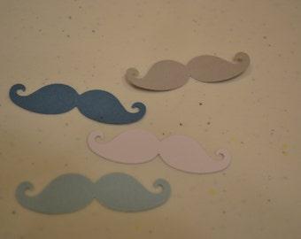 Baby Boy Mustache Confetti/Blue Boy Mustache Confetti/Mustache Confetti/Mustaches