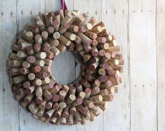 Items Similar To Mirror Lined With Old Wine Corks On Etsy
