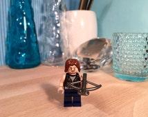 The Walking Dead Daryl Dixon LEGO Figure Art Gift