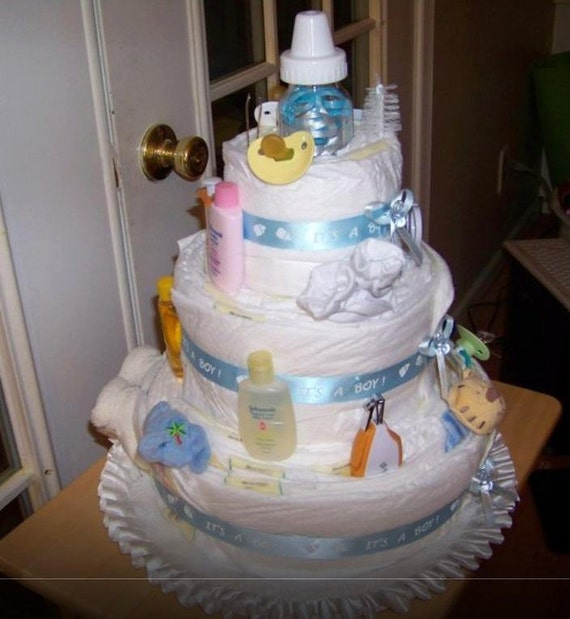 Baby Shower Diaper Cakes And Gift Ideas
