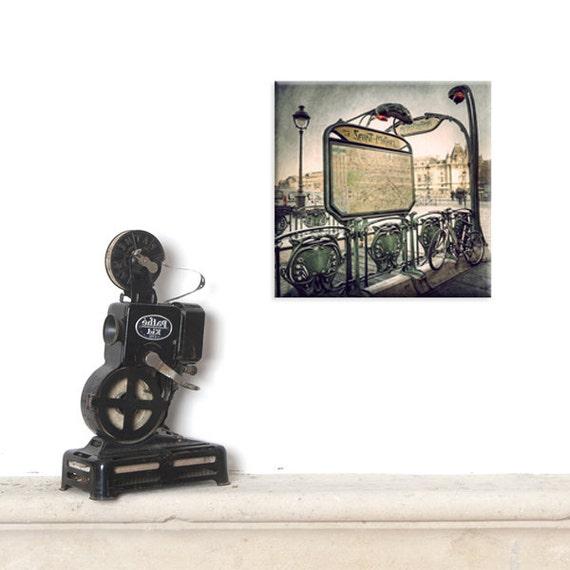 canvas, canvas print, Canvas Gallery Wrap, Parsian decor, Paris map, Parisian decor, Paris decor, Subway, Metro Paris