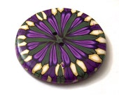 Extra Large Button Handcrafted No. 272