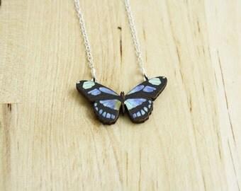 Butterfly Necklace / Laser Cut Necklace / SAMPLE SALE