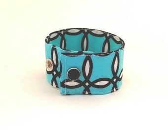 Women's Cuff Bracelet Soft Fabric Wristband