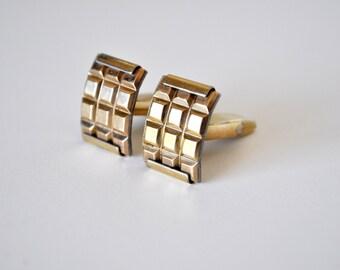 Vintage Gold Mod Cufflinks by Nanasi