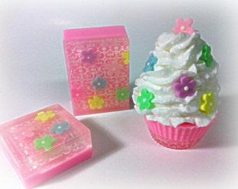 Princess Soap Set of 3 pieces