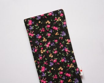 Pink Floral Case iPhone 5 5s, 6, 6 Plus, iPod Classic, HTC One A9 M9, LG G3 G4, Samsung Galaxy S5 S6 Edge, Sony Xperia Z5, Nexus 6 Sleeve