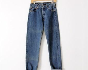 Levis 501 denim jeans, waist 30