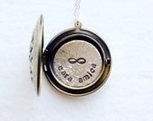 Friendship Gift, Best Friends Necklace, Personalized Bridesmaid Gift, Bridesmaid Necklace, Friendship Jewelry, Locket Necklace, Love Gift