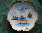 Toronto Canada Souvenir Plate Leftonesque China