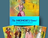 The MEMORY Game!  A 26 card deck featuring the art of Eden Thompson