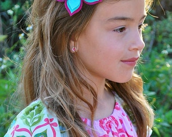 Butterfly - Butterfly Hair Clip - Butterfly Headband - Felt Hair Clip - Felt Hair Accessory - Headbands - Hair Clips - Hair Clips for Girls