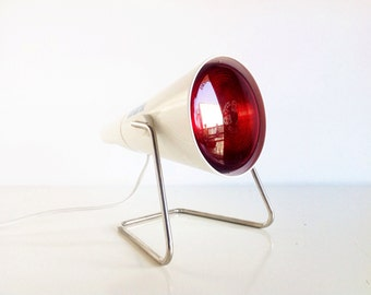 Philips vintage INFRAPHIL light designed by Charlotte Perriand ,60s