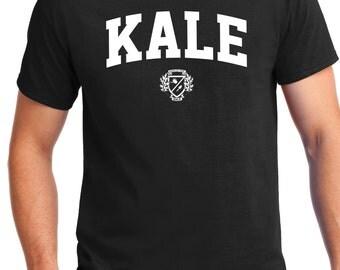 KALE T SHIRT, Eat Kale, Eat healthy, Yummy Kale, Kale Tee, Kale T shirt, KALE, Yale, Healthy Living, Curly Kale